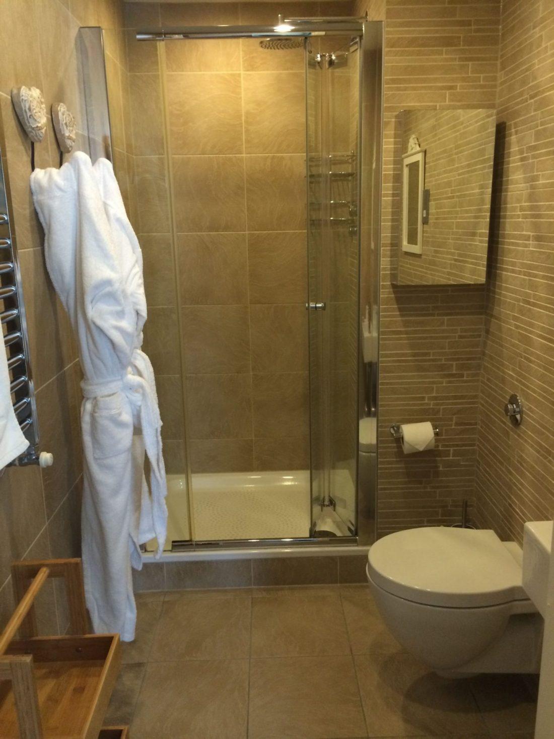 Bathroom at Hawkes Point, Cornwall
