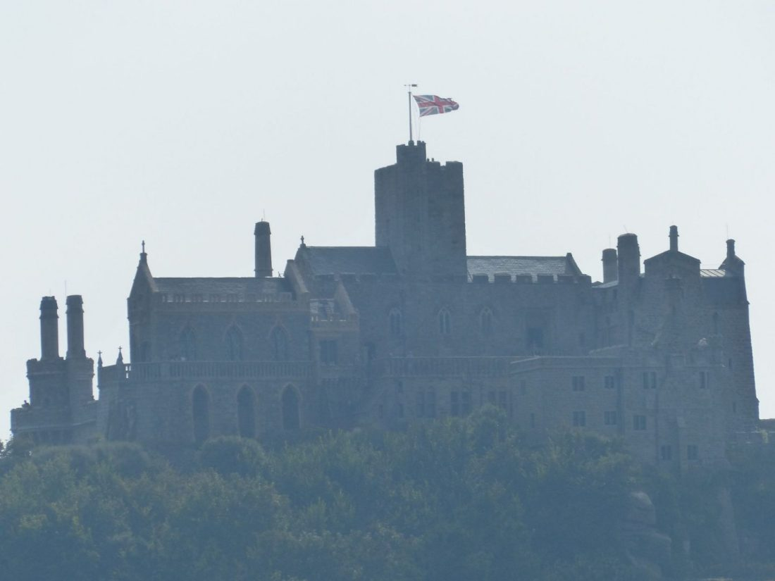 Castle on St Michaels Mount, Cornwall