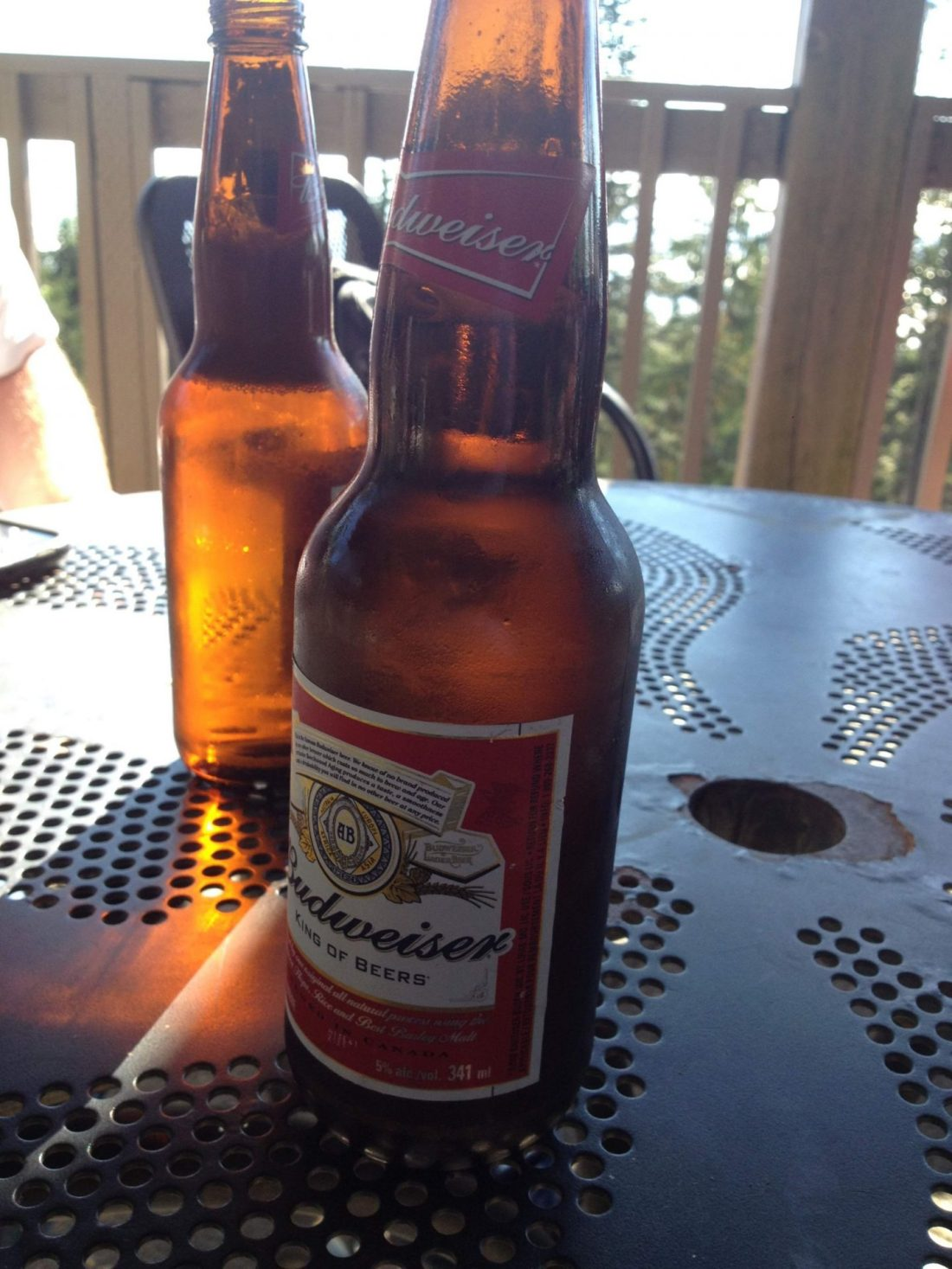 Beers at the top of the Grouse Grind, Vancouver