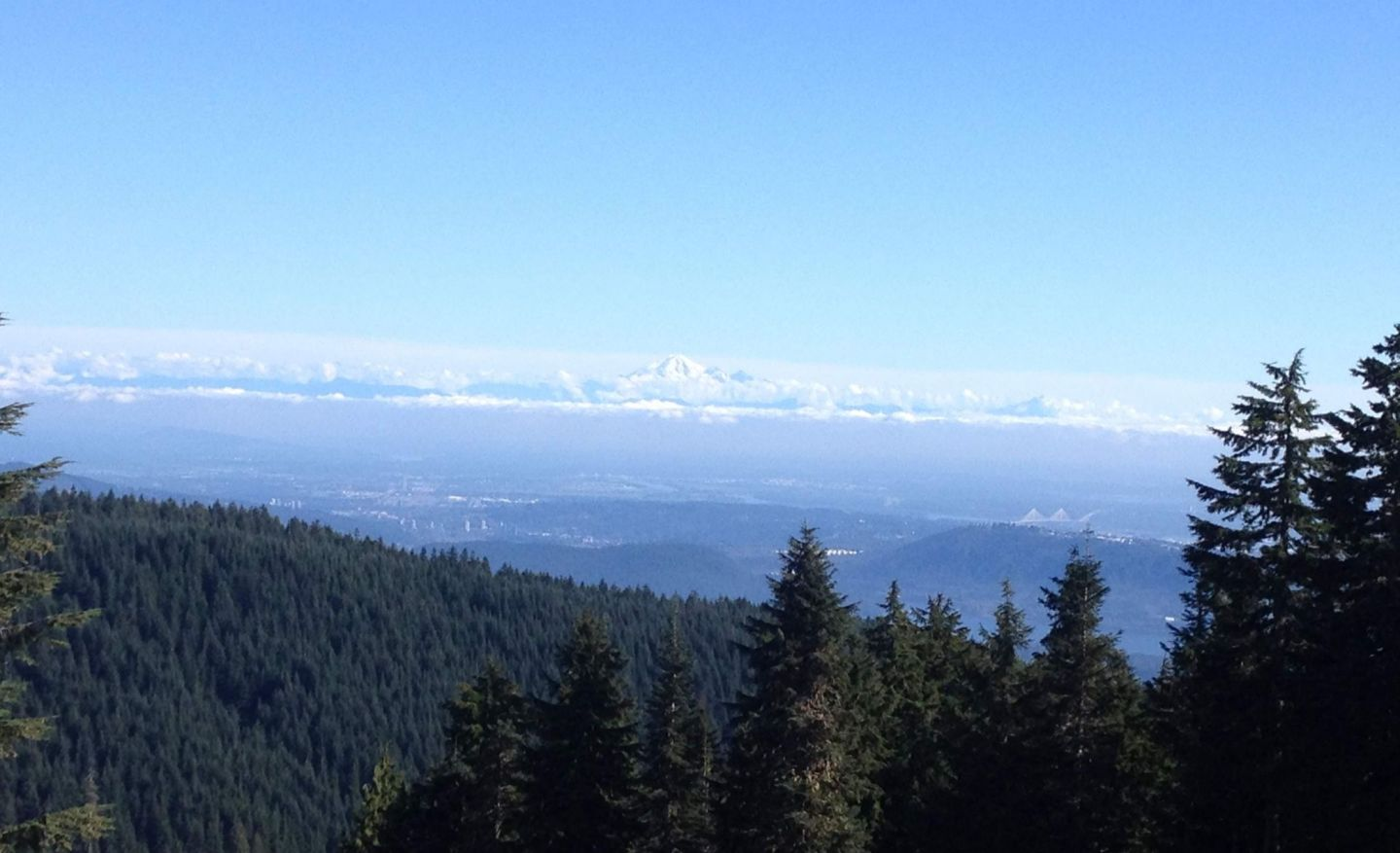 Views over Vancouver from Grouse Mountain