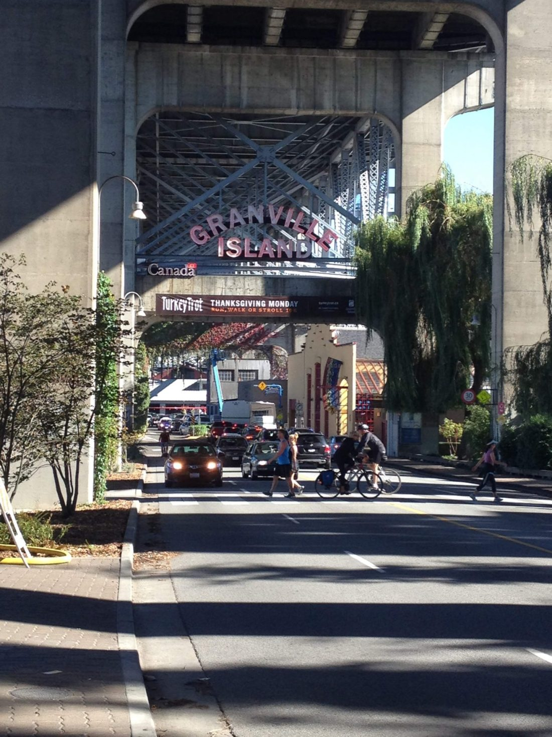 Entrance to Granville Island, Vancouver