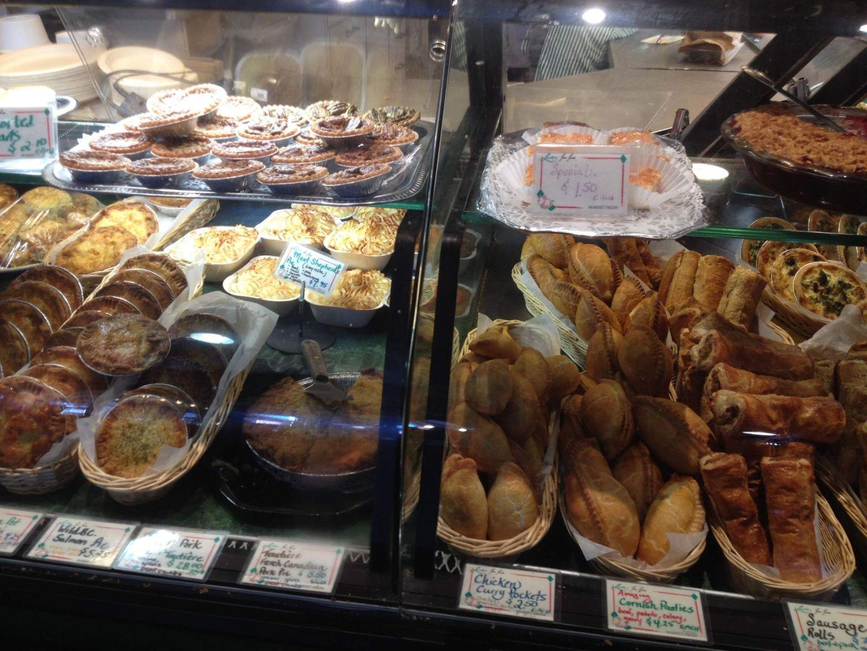 Pastries at Granville Island Public Market, Vancouver