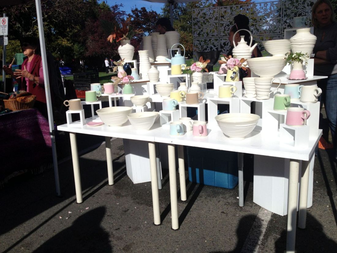 Crafts from Salt Spring Island Saturday market