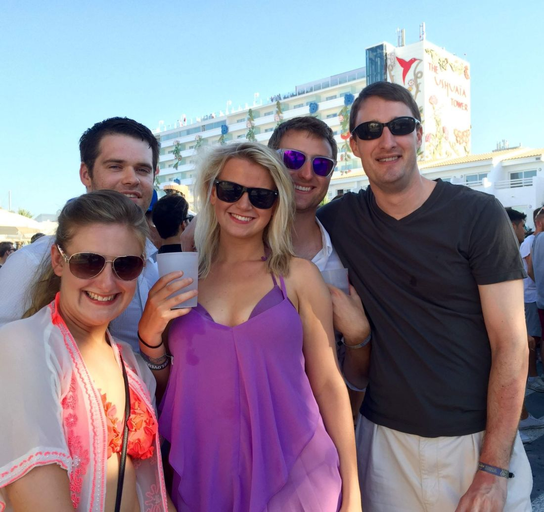 Gang at Ushuaia, Ibiza