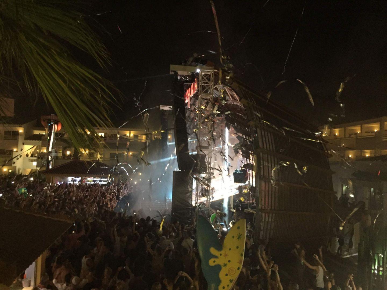 Watching Avicii in Ibiza