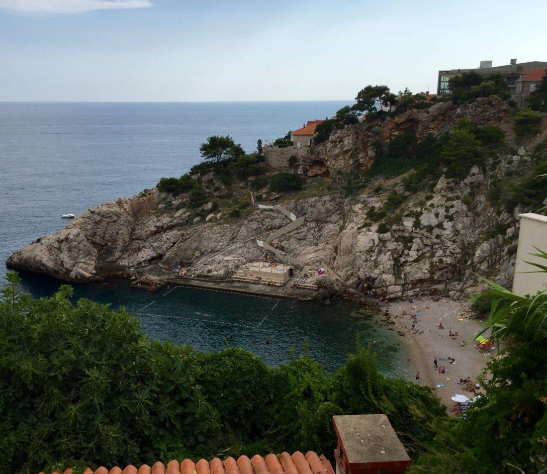 Bellevue Beach, Dubrovnik