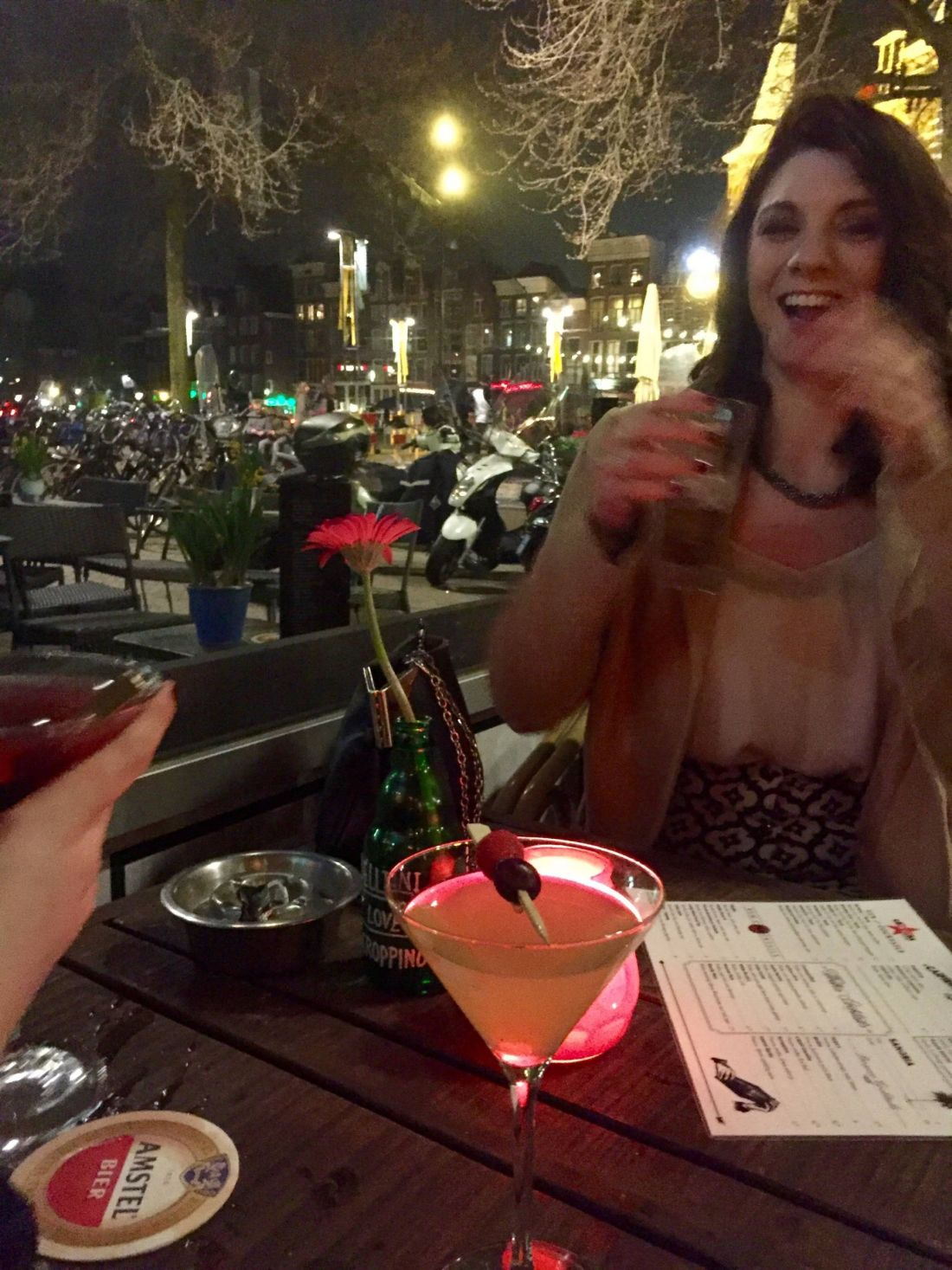 Cocktails in the Red Light District