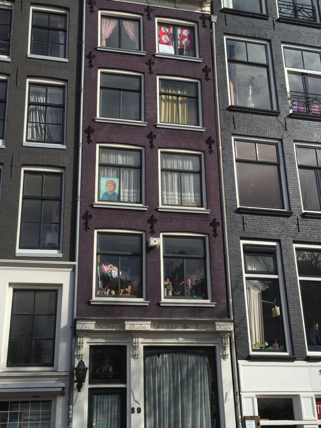 Shops in the Jordaan