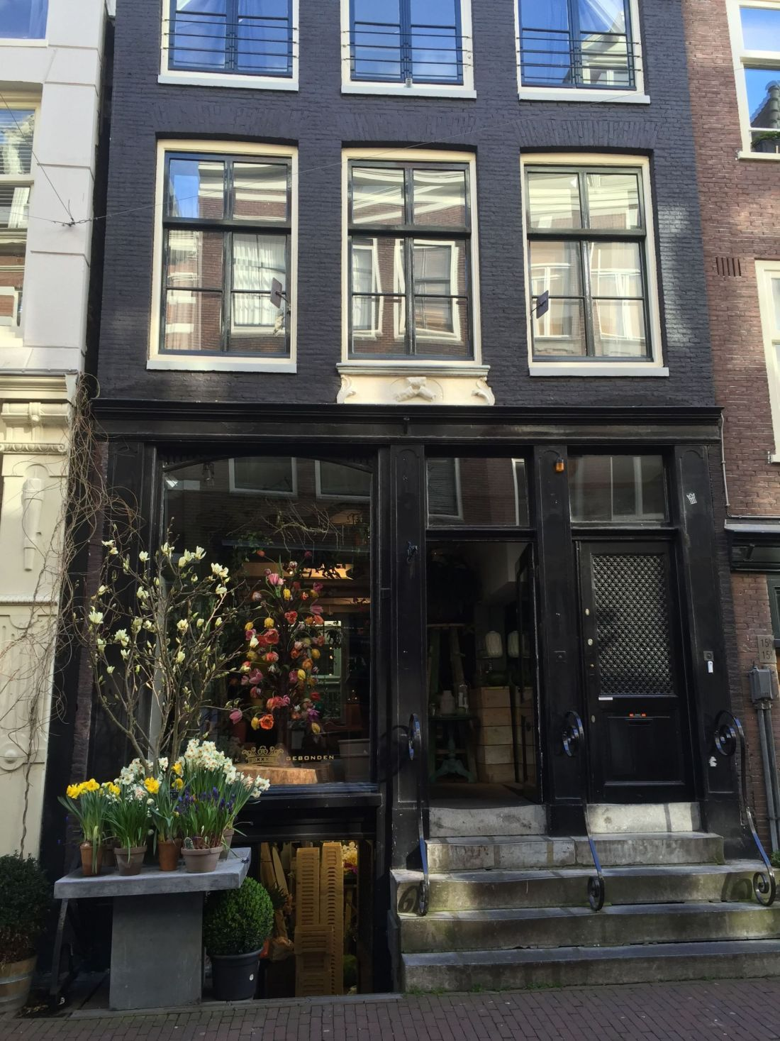 Shops in the Jordaan, Amsterdam