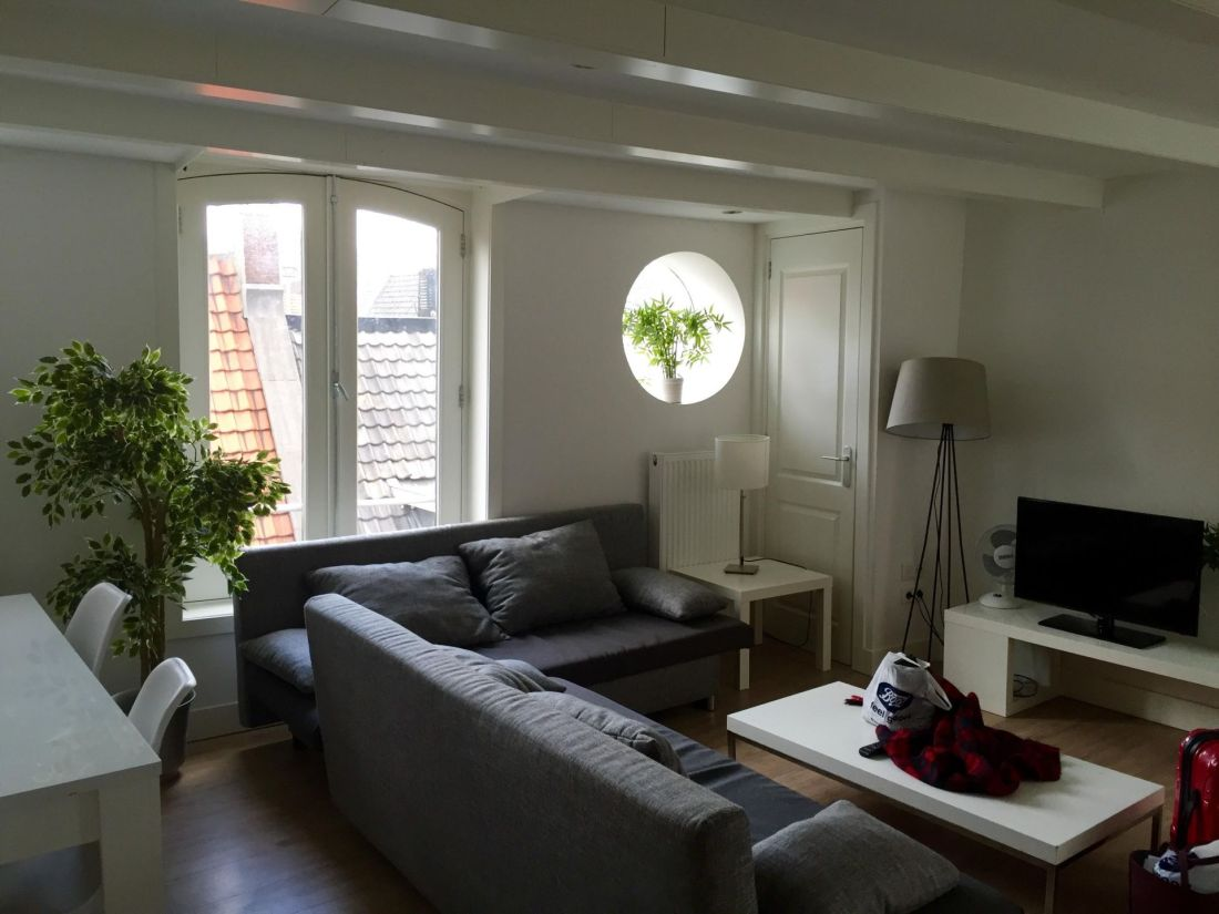 Amsterdam canal house apartment
