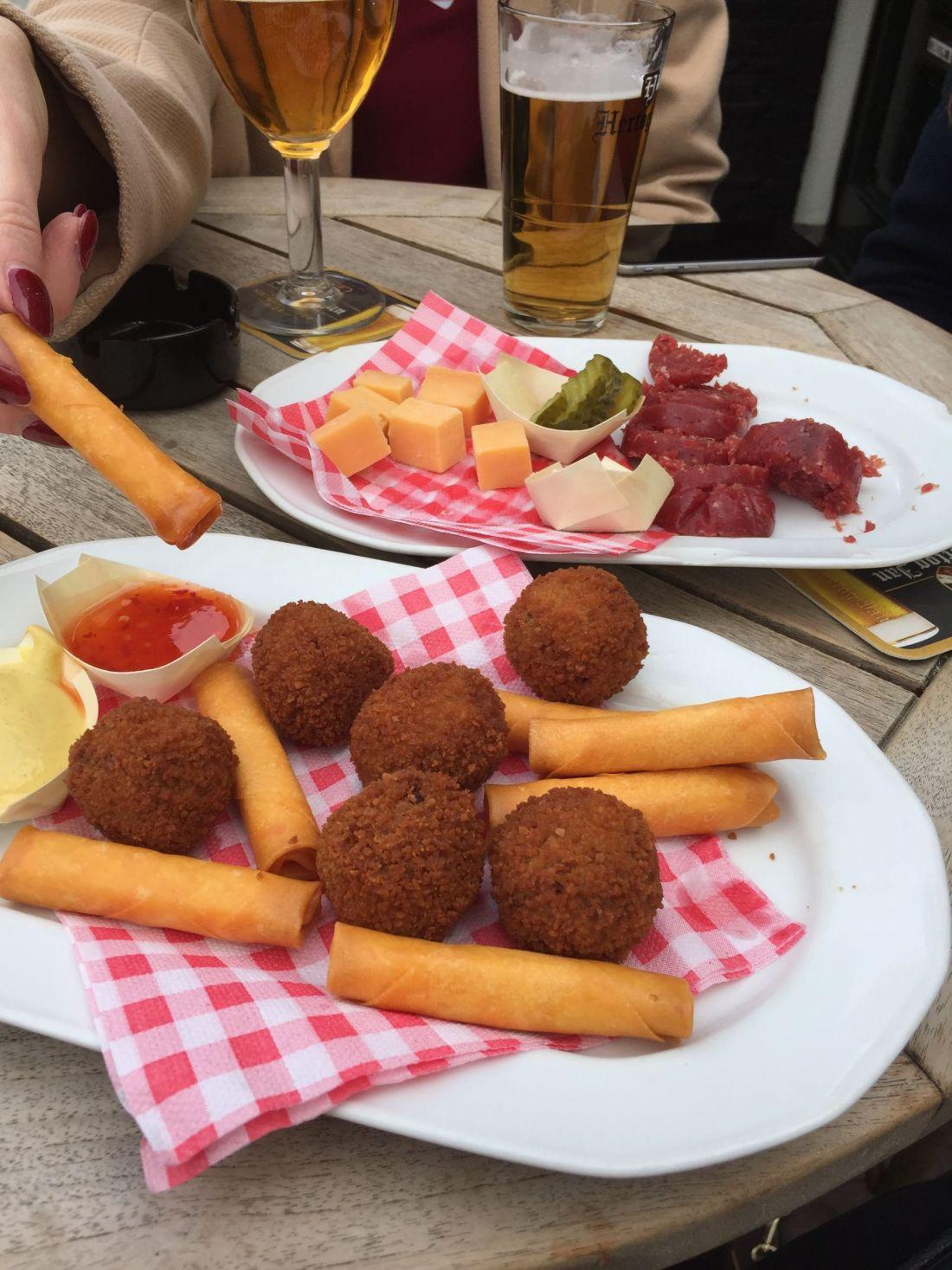 Fried food from Sluyswcht