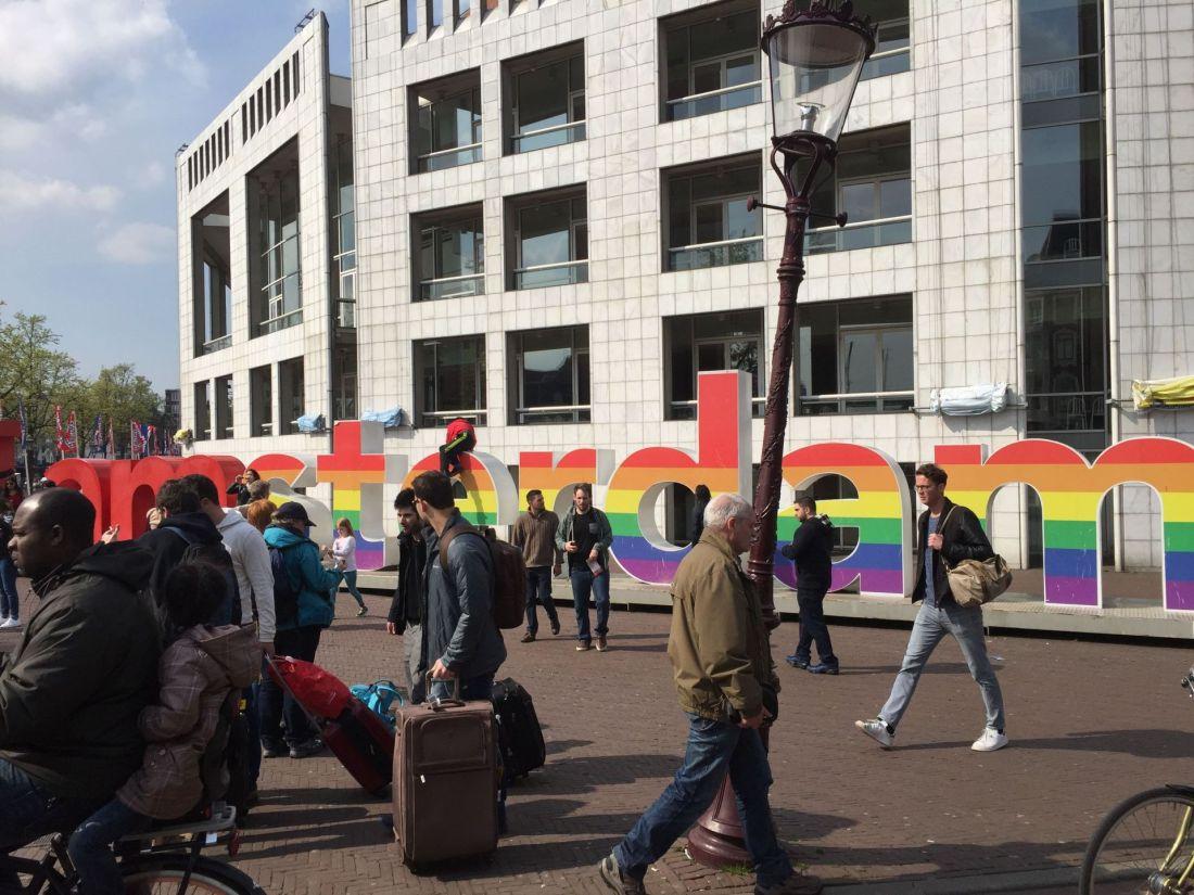 I Amsterdam landmark