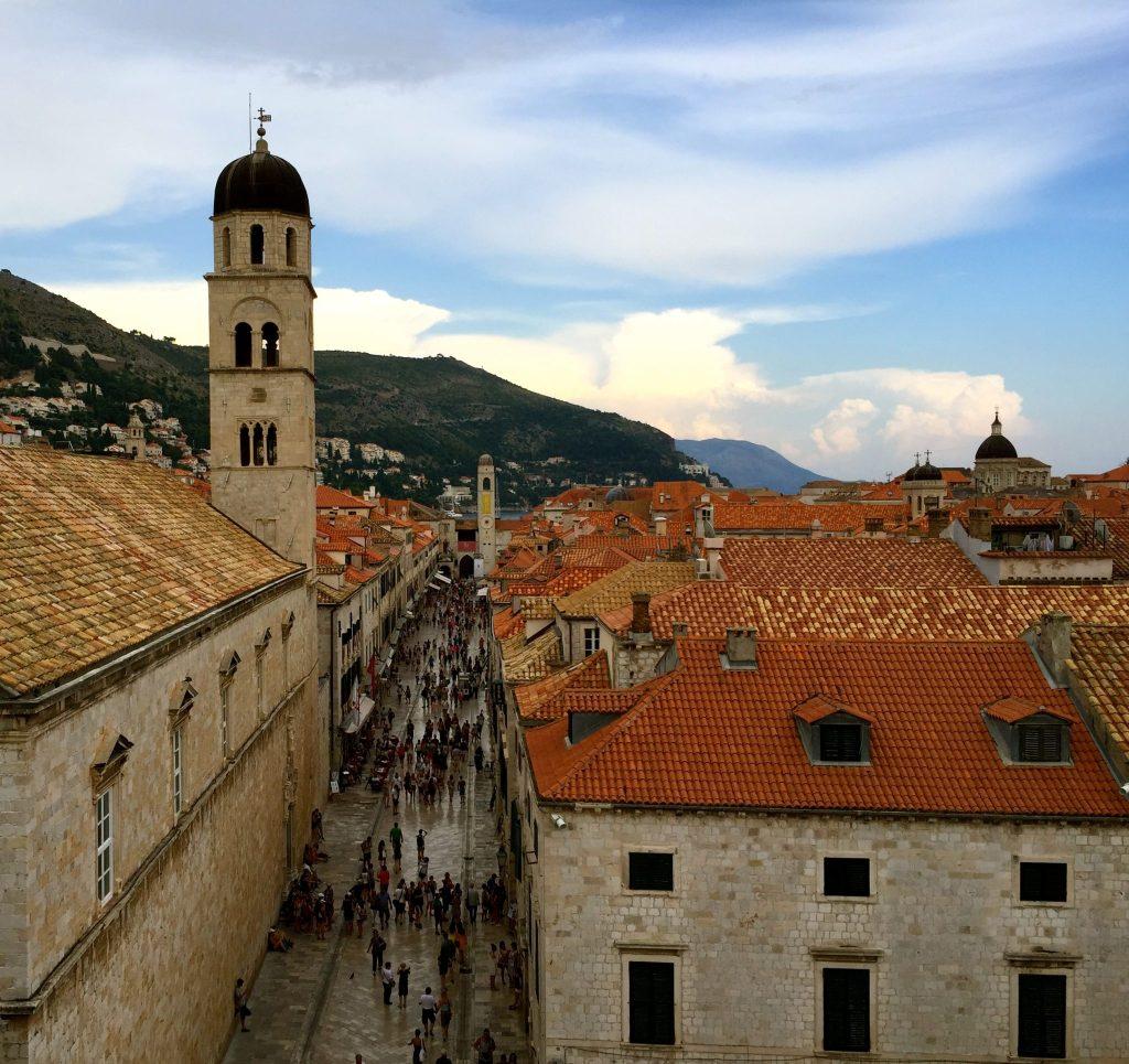 Arriving in Dubrovnik