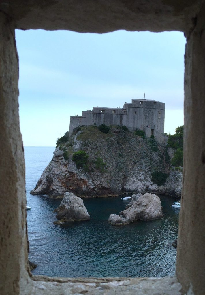 View across Dubrovnik from the City Walls