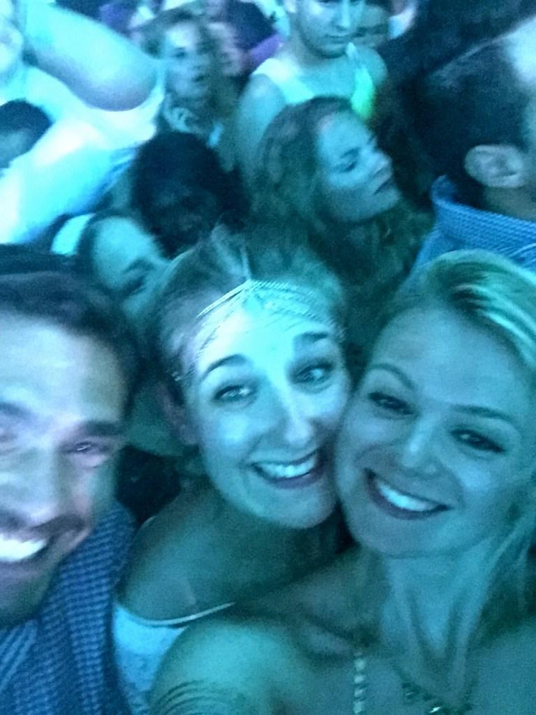 Girls at David Guetta, Pacha, Ibiza