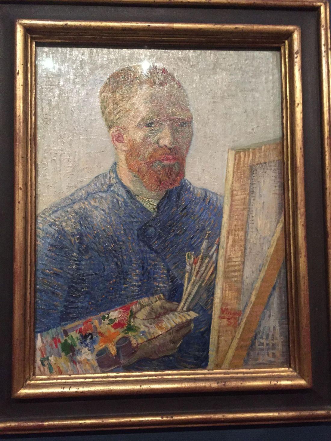 Van Gogh portrait, Amsterdam