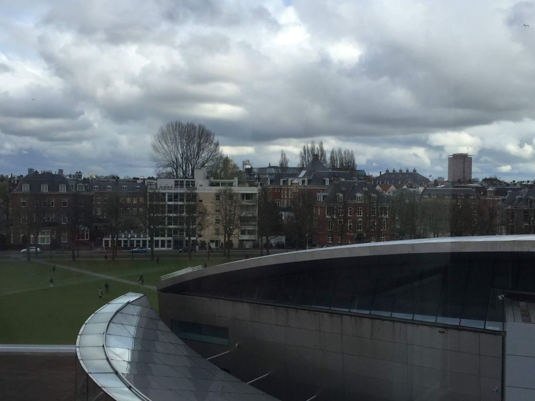 Views from the Van Gogh Museum, Amsterdam