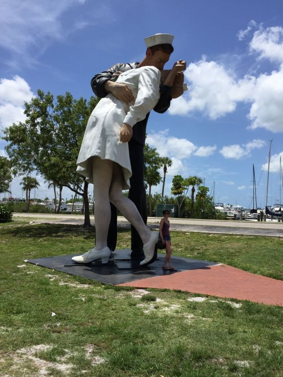 Unconditional Surrender, Sarasota Bayfront