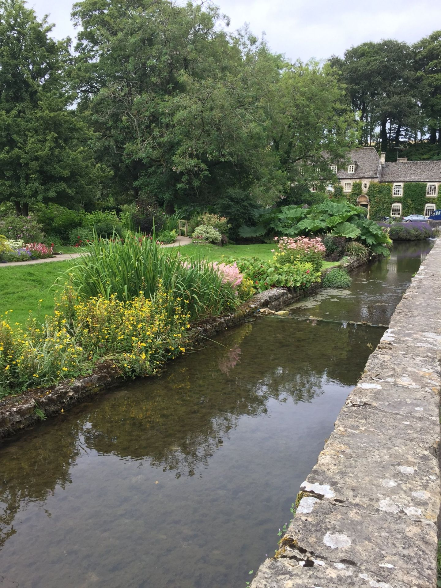 River in Bibury, Cotswolds