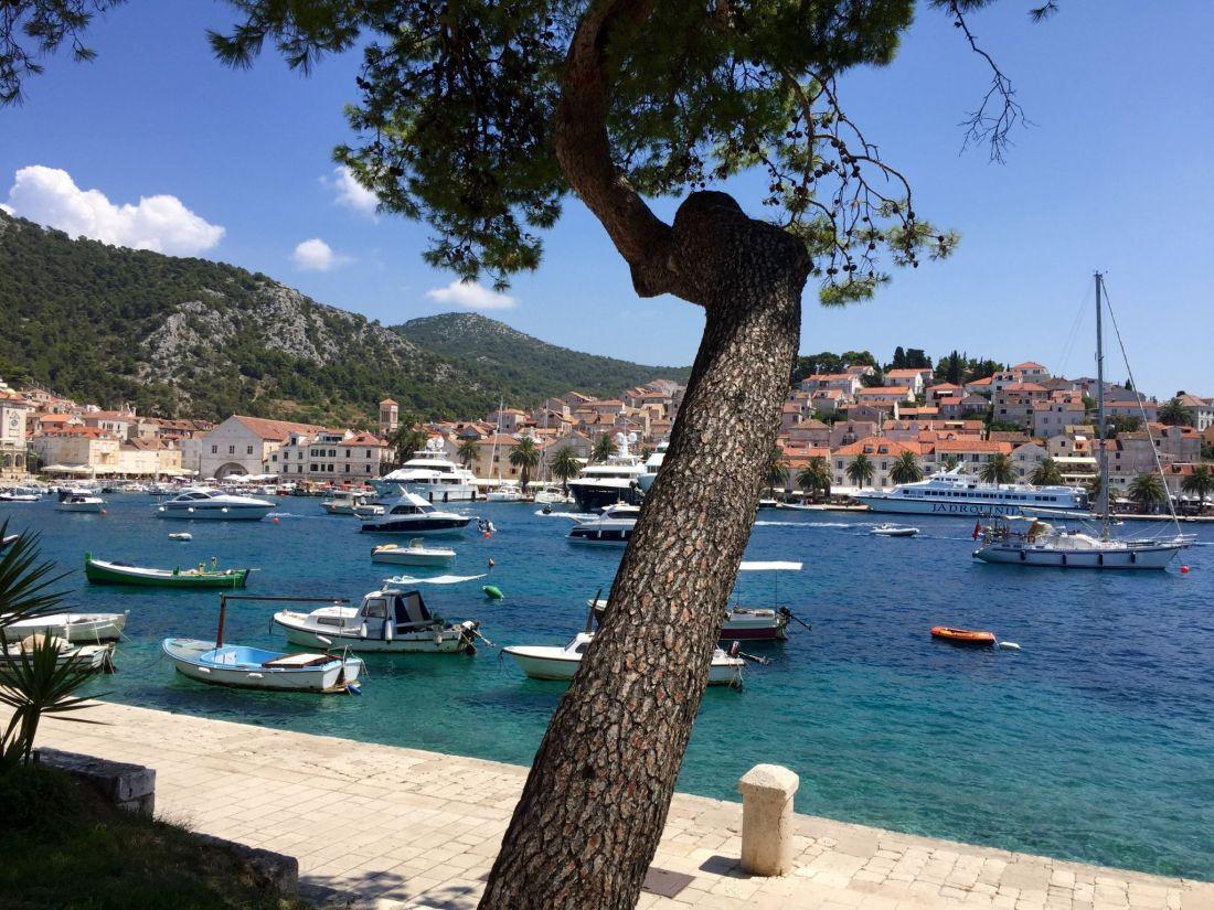 Hvar harbour, Croatia