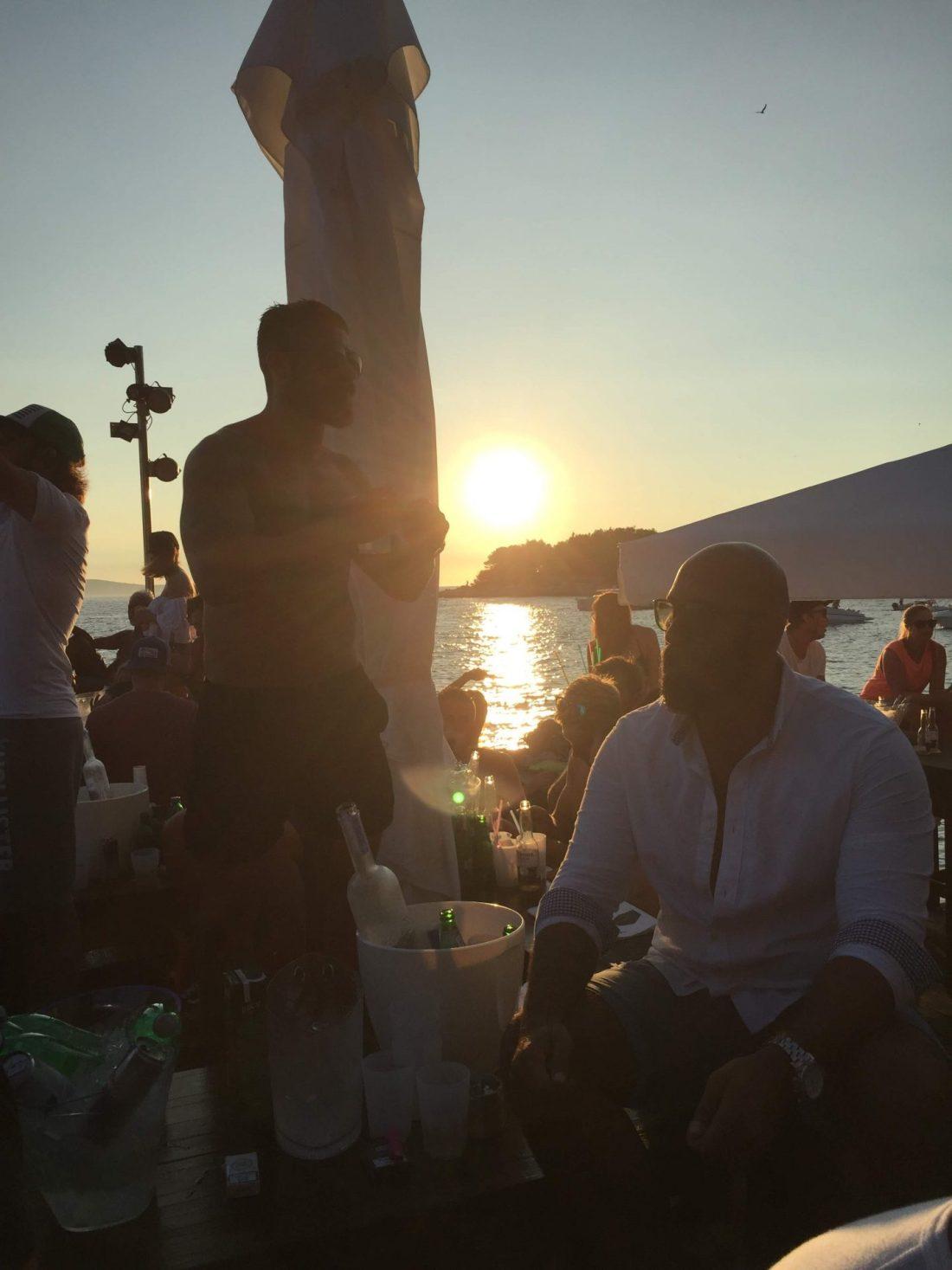 Sunset from Hula Hula Beach Club