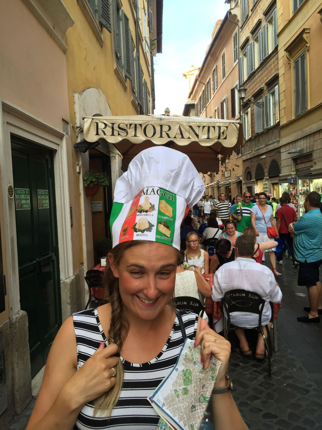 Getting in the Italian spirit