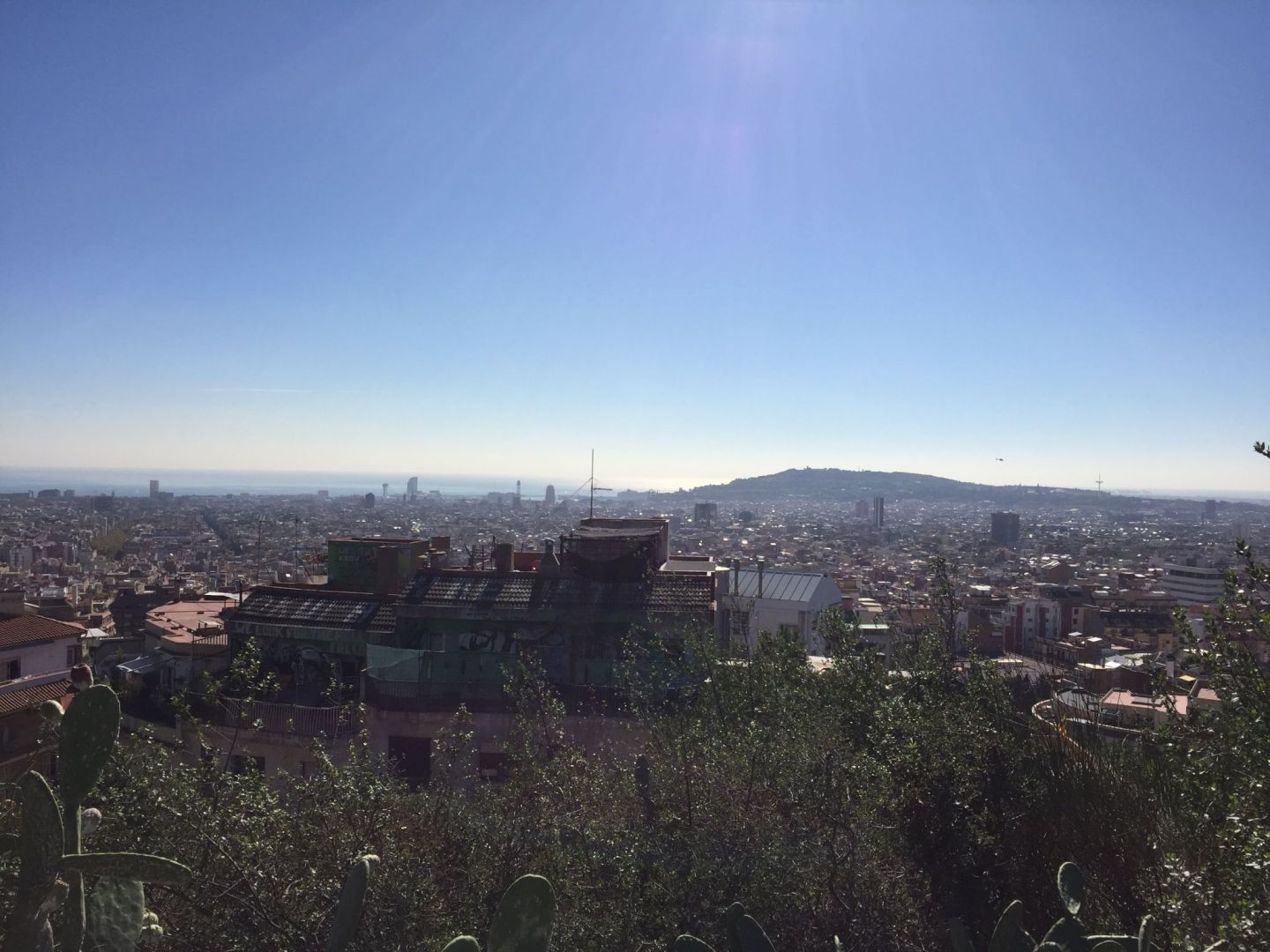 Views from Parc Guell, Barcelona
