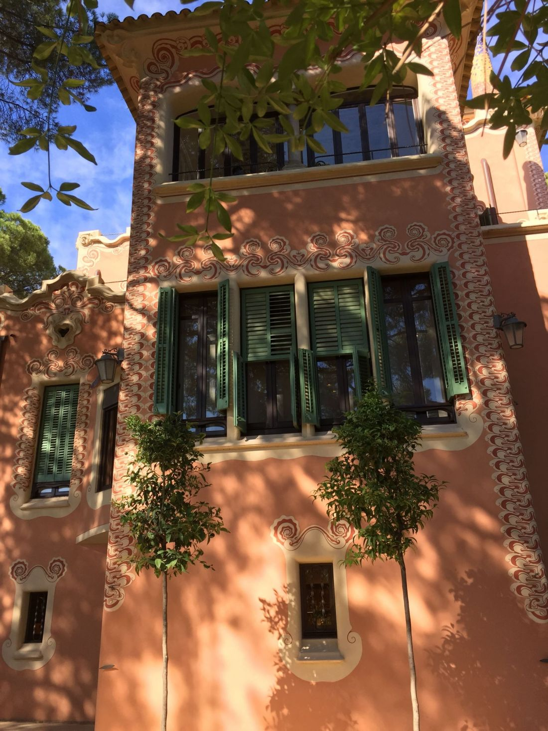 Gaudi House Museum, Parc Guell, Barcelona