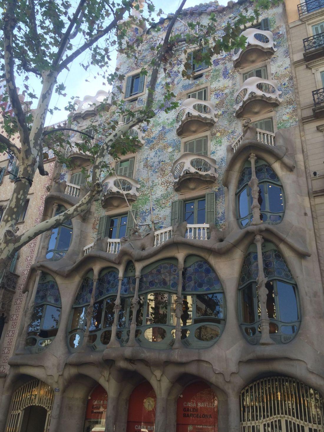 Gaudi's Casa Batllo, Barcelona