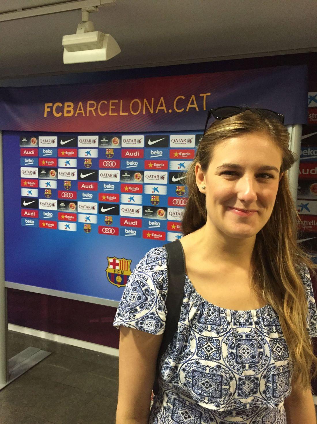 FC Barcelona at Camp Nou