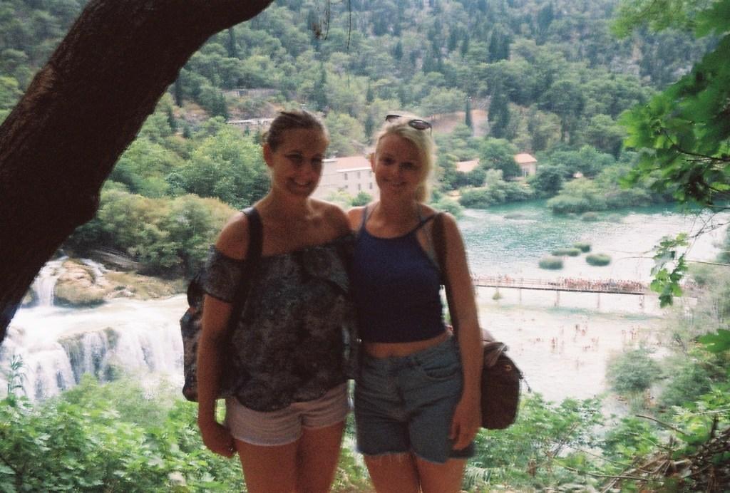 Girls at Krka National Park, Croatia