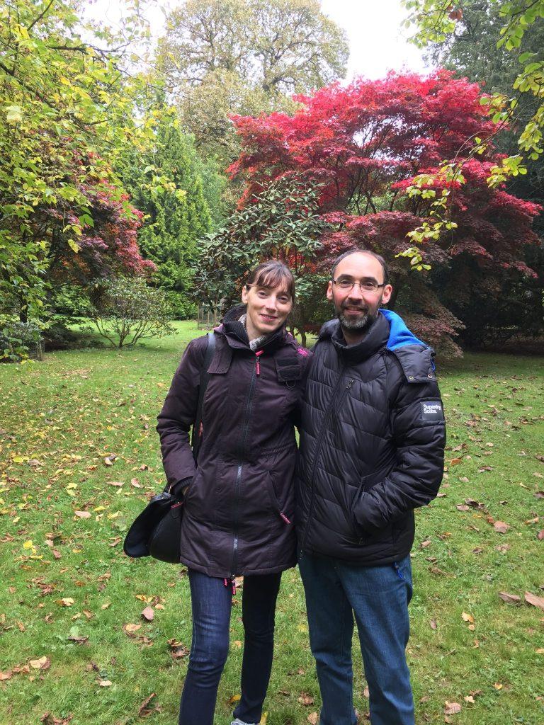 Parents at Westonbirt Arboretum, Gloucestershire