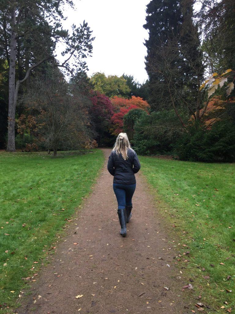 Laura in Westonbirt Arboretum