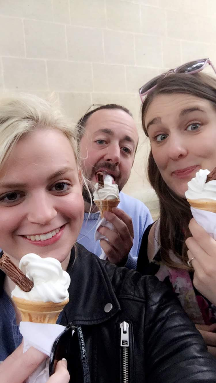 Ice creams in Oxford, UK