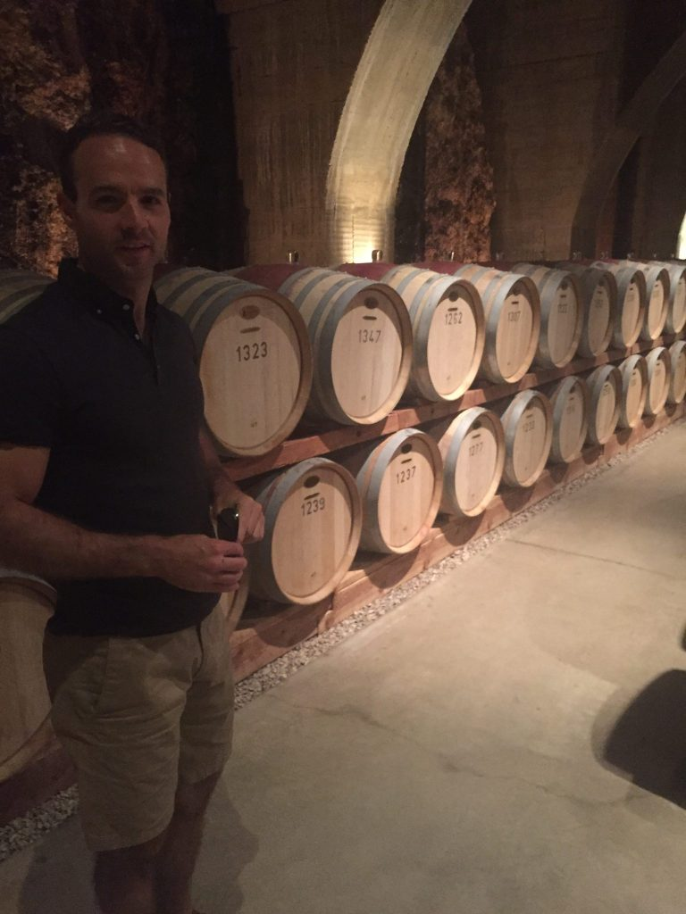 Exploring the Barrel Cellars of wine