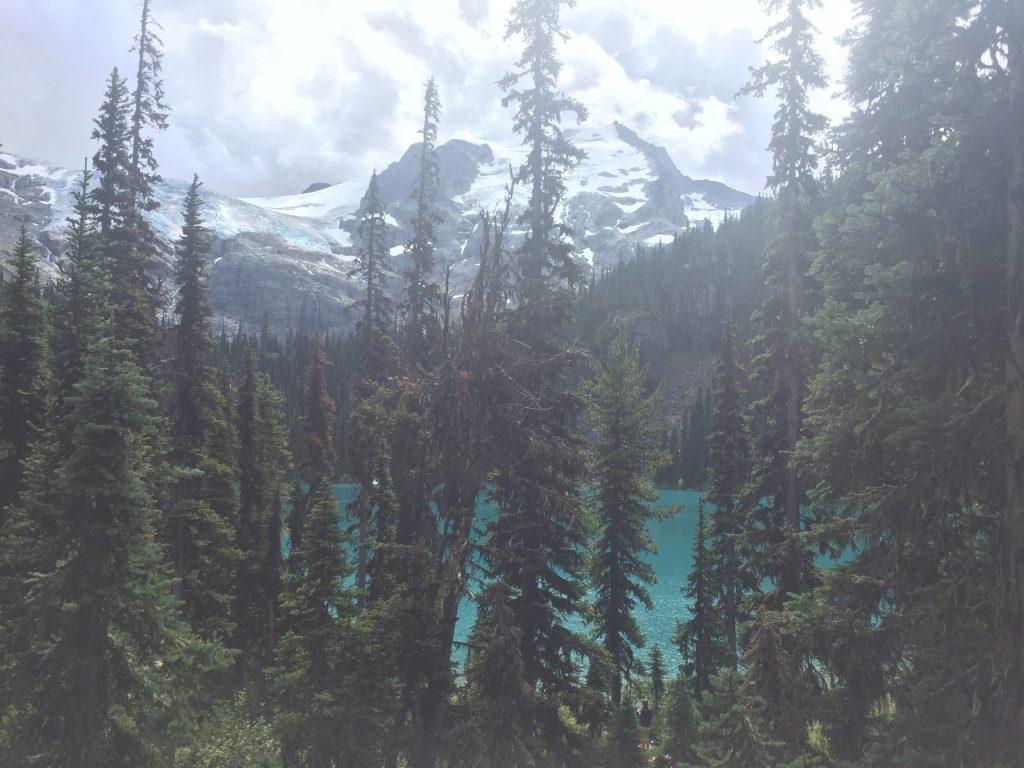 Views of Middle Joffre Lake, British Columbia