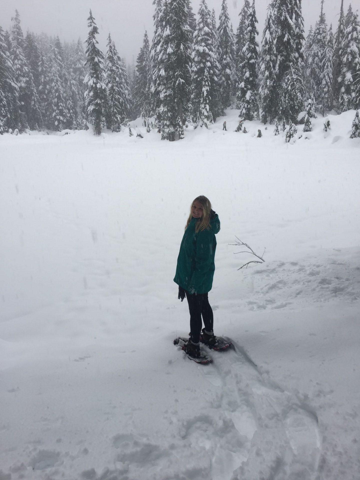 Laura on Mount Seymour, Vancouver