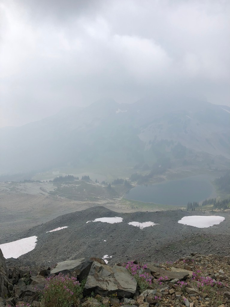 Misty views at Panorama Ridge