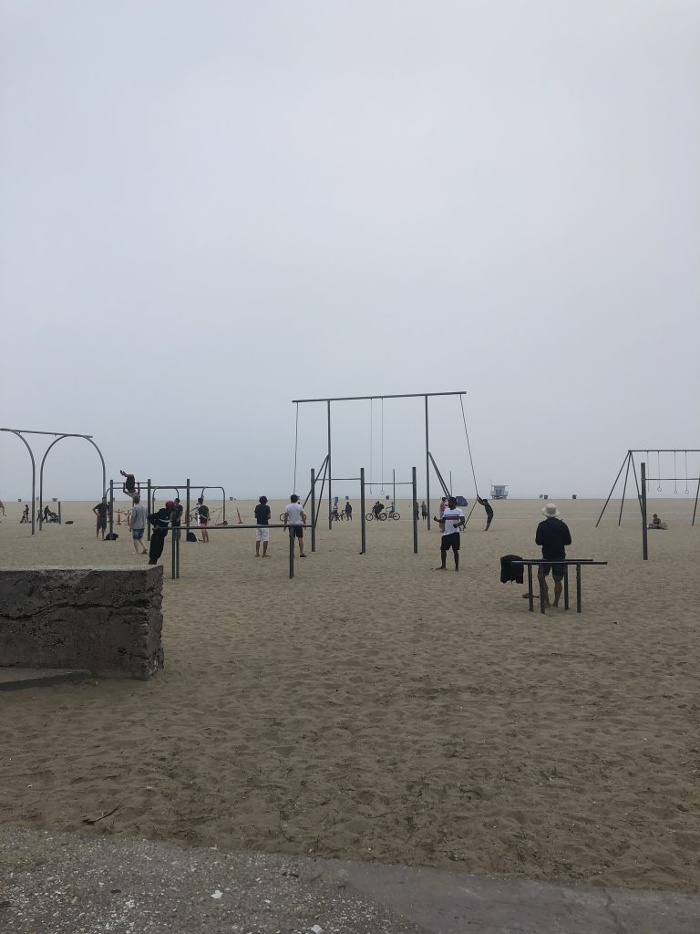 Muscle Beach, California