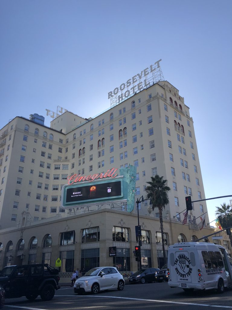 Roosevelt Hotel, Hollywood