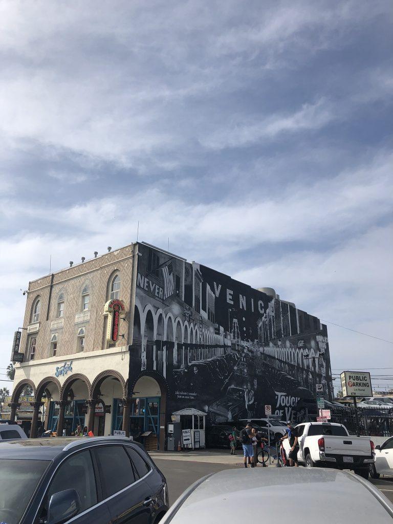 Street art in Venice, California