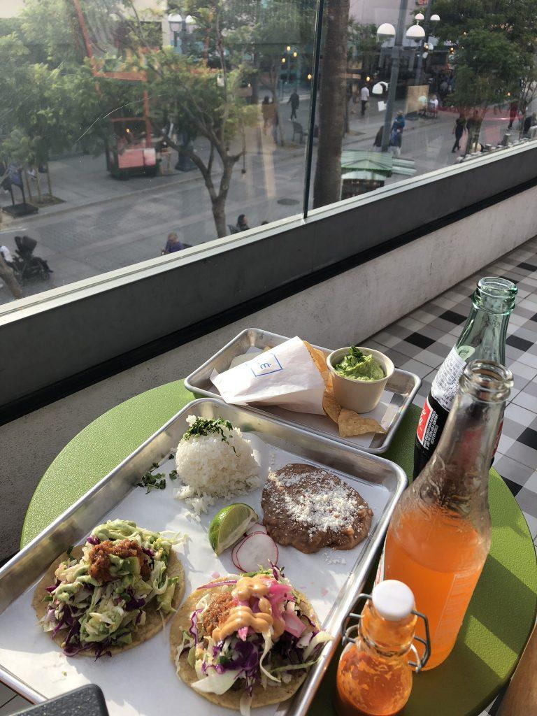 Tacos in Santa Monica, California
