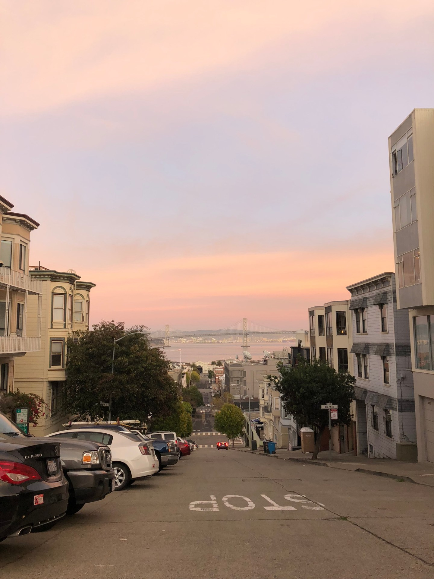 Sunsets across San Francisco Bay