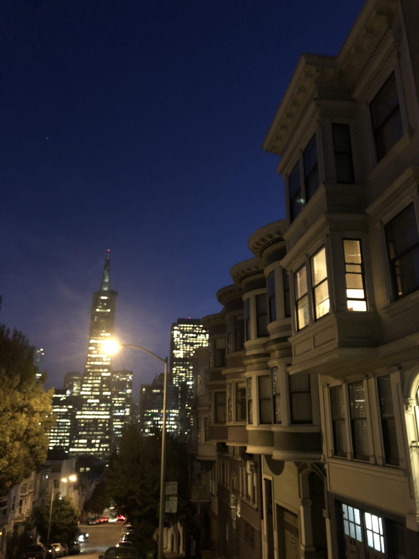 Night in San Francisco