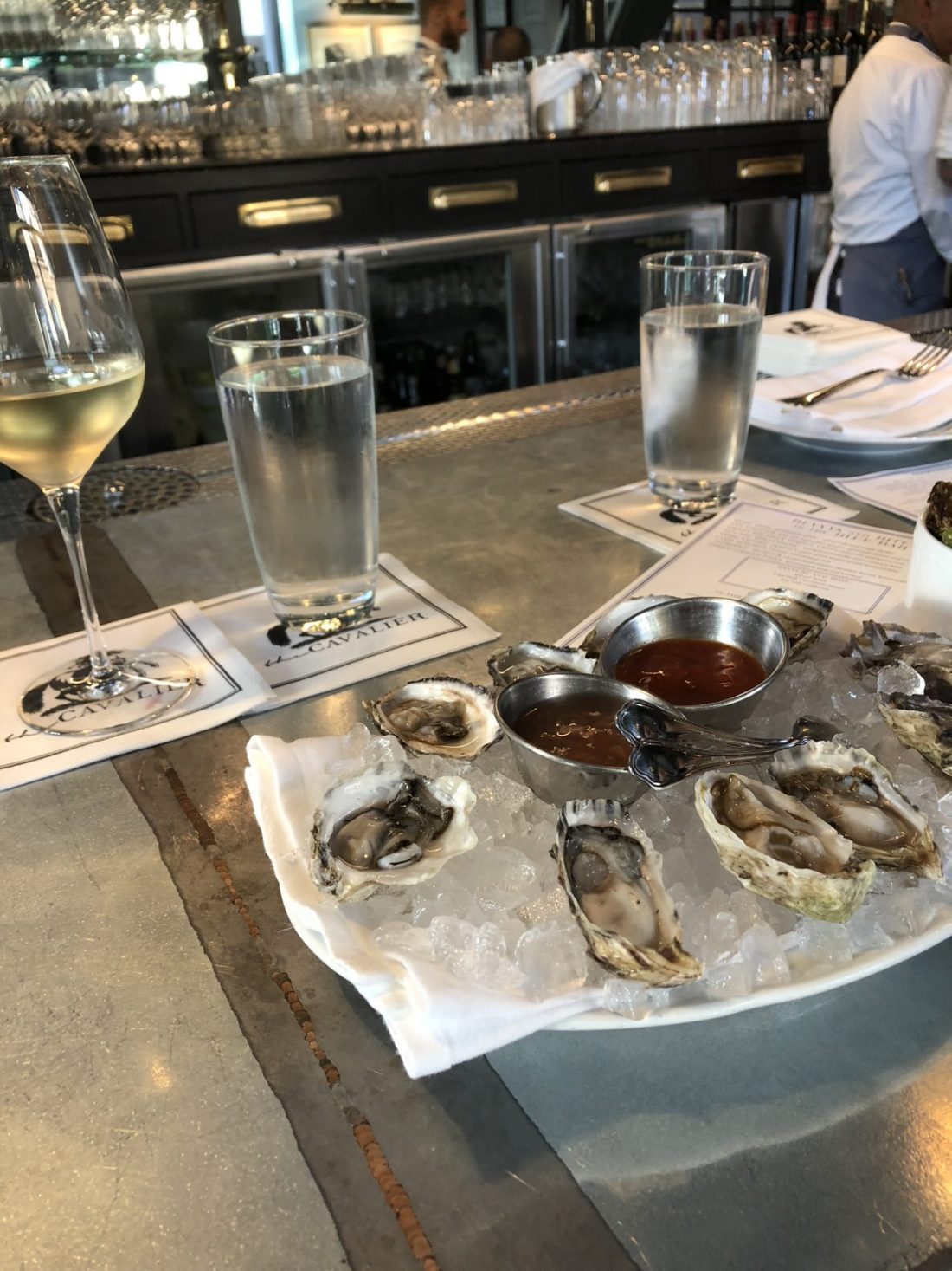 Oysters at Hotel Zetta, San Francisco