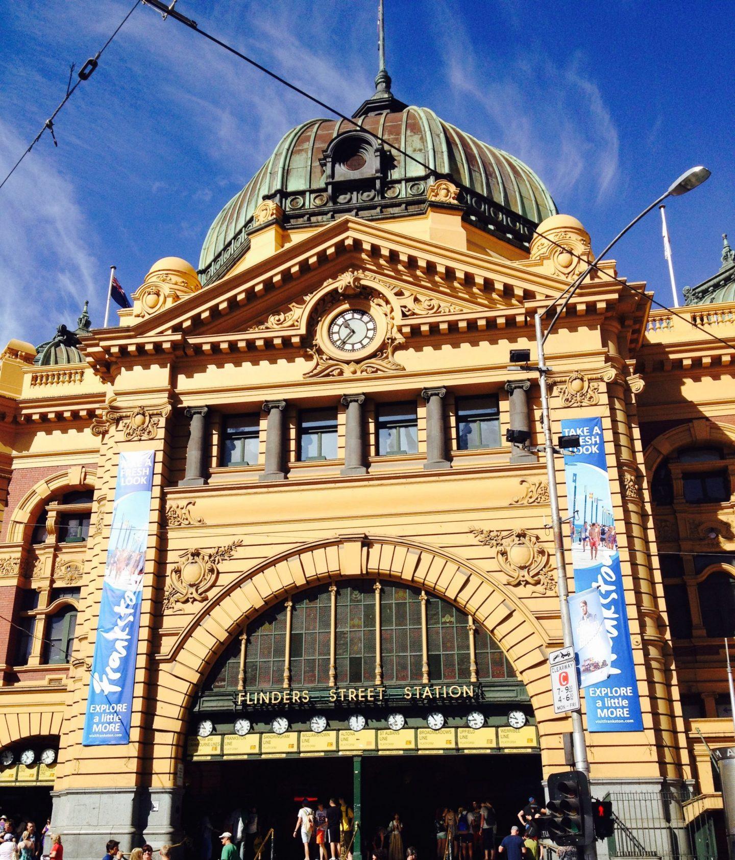Flinders Street Station, Melbourne, Victoria