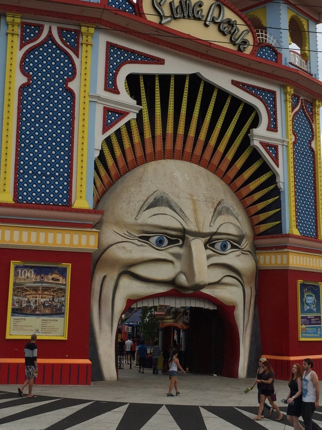 A Melbourne itinerary: Luna Park