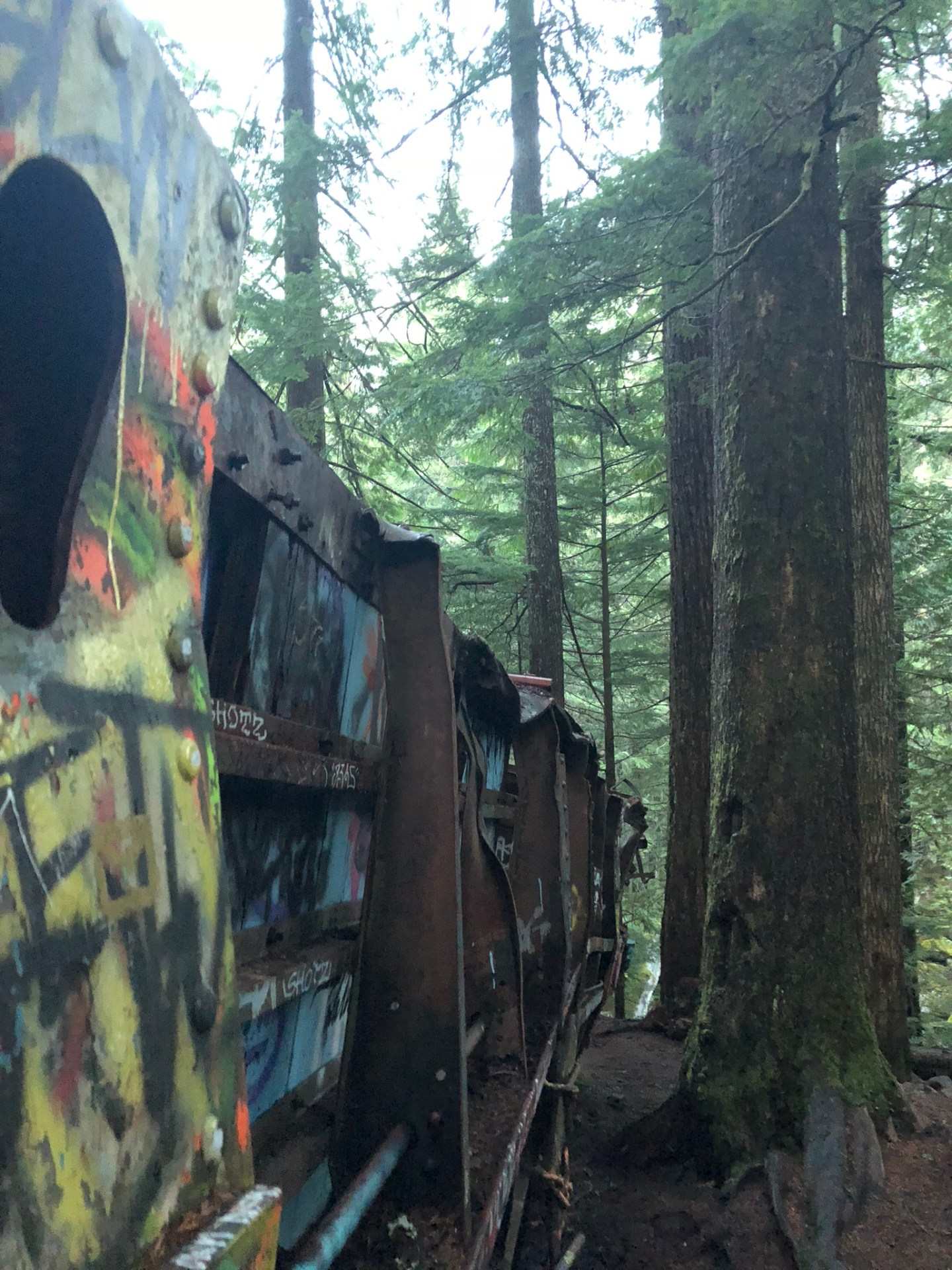 Train carriage, Whistler