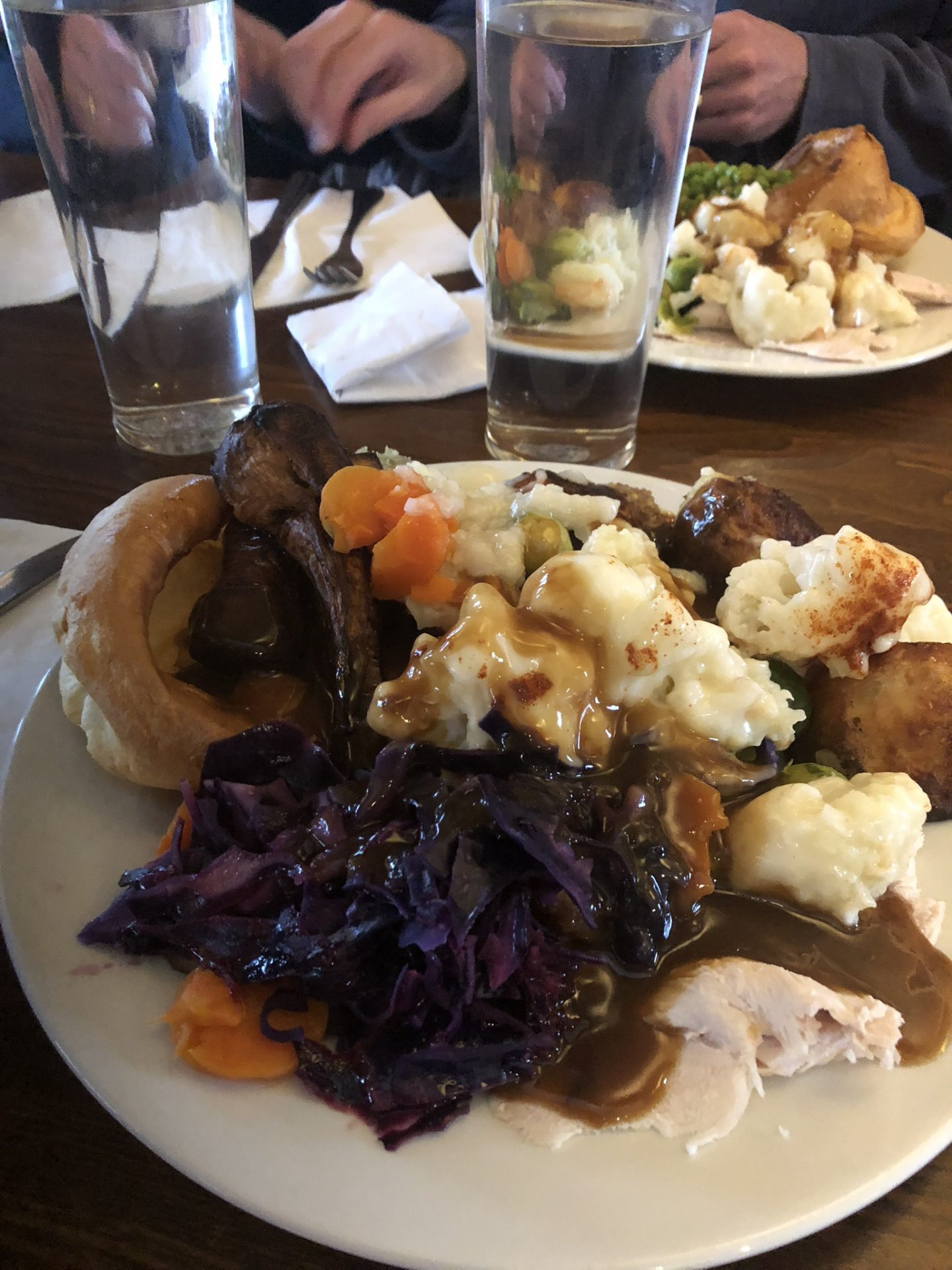 Home for the holidays: Toby Carvery roast dinner