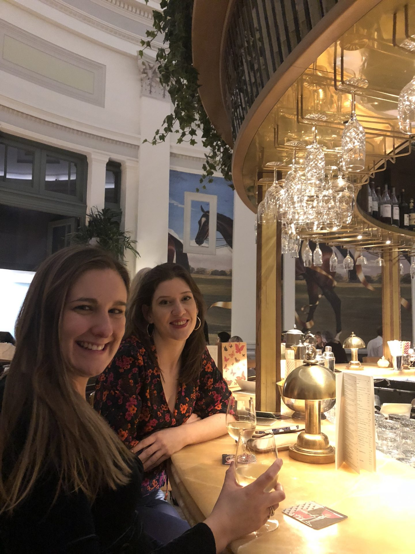 Home for the holidays: cocktails at the Ivy, Cheltenham